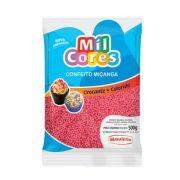 Confeito Miçanga N.0 500g Rosa Mil Cores