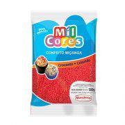 Confeito Miçanga N.0 500g  Vermelho Mil Cores