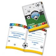 Convite Apaixonados por Futebol C 08 unid Festcolor