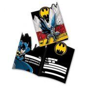 Convite Batman C 08 unid Festcolor