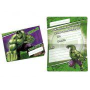 Convite Hulk C 08 unid Regina