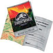 Convite Jurassic World C 08 unid Festcolor