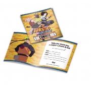 Convite Naruto c/8 unid Festcolor