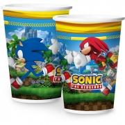 Copo de Papel 180ml Sonic c/12 unid Regina