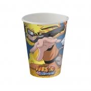 Copo de Papel 200ml Naruto c/8 unid Festcolor