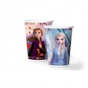 Copo de Papel Frozen II 180ml C 12 unid Regina