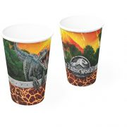 Copo de Papel Jurassic World C 08 unid  Festcolor