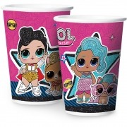 Copo de Papel L.O.L Surprise 180ml c/12 unid Regina