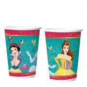Copo de Papel Princesa Amigas 180 ml  C 08 unid Regina