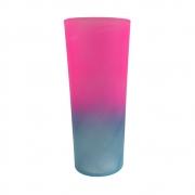 Copo Long Drink Bicolor 350ml Tifanny/Rosa