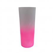 Copo Long Drink Degradê 350ml Rosa Neon
