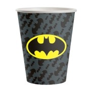 Copo Papel 200ml Batman Geek c/8 unid - Festcolor