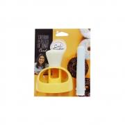 Cortador Plástico de Donuts Carol Fiorentino