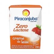 Creme de Leite Zero Lactose 200g Piracanjuba