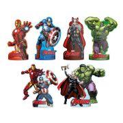 Decoração de Mesa Avengers C 06 unid Regina
