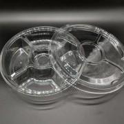 Embalagem Petisqueira Transparente C tampa  G540
