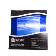 Embalagem Trufa Azul 15x16 cm 100 unid. Embale