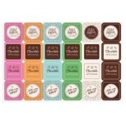 Etiqueta Adesiva para Ovos de Páscoa c/2 unid Chocolatier