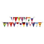 Faixa Decorativa Países Now United Festcolor