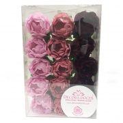Forminha Bela Tons Rosas c/30 Decora Doces