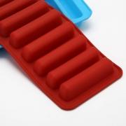 Forminha de Gelo Silicone 24,5x9x2cm