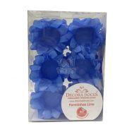 Forminha Lírio Azul Claro c/40 Decora Doces