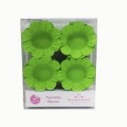 Forminha Miosótis c/50 Verde Neon Decora Doces