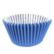 Forminha para Cupcake Azul Royal 45unid. Mago
