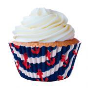 Forminha para Cupcake Nautico 45 unid. Mago