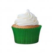 Forminha para Cupcake Verde Escuro c/45 unid Flip