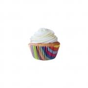 Forminha para Mini Cupcake Arco Íris c/45unid Flip