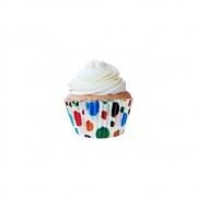 Forminha para Mini Cupcake Circo c/45unid Flip