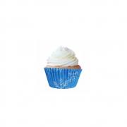 Forminha para Mini Cupcake Flocos de Neve c/45unid Flip