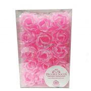 Forminha Primavera Rosa Bebe c/30 Decora Doces