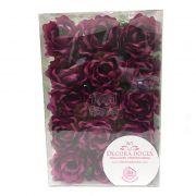 Forminha Primavera Rose c/30 Decora Doces