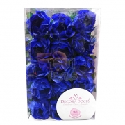 Forminha Princesa c/30 unid Azul Royal Decora Doces