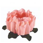 Forminha Rosa Maior Pêssego  c/30 Decora Doces