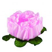 Forminha Rosa Maior Rosa Bebe c/30 Decora Doces