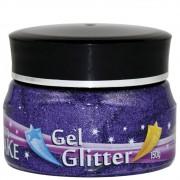 Gel Glitter Roxo 150g Colormake