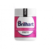 Glitter Decorativo Preto 5g Brilhart