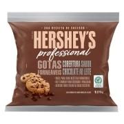 Gotas Forneáveis Sabor Chocolate ao Leite Hershey's Professional 1,01Kg