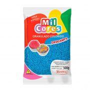 Granulado Crocante Azul 500g Mil Cores