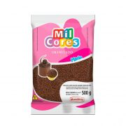 Granulado Macio Sabor Chocolate  500 g Mil Cores