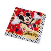Guardanapo Mickey 25cm x 25cm C 16 unid Regina