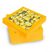 Guardanapo Minions 25cm x 25cm C 20 unid Festcolor