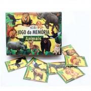 Jogo da Memória Animais Mini Toys