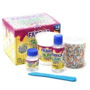 Kimeleka Fábrica de Slime Crunch Arco-Íris Acrilex