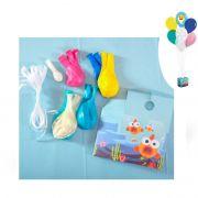 Kit de Balões para Decoração Baby Shark Cromus