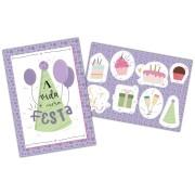 Kit Decoratico Celebre a Vida - Festcolor