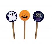 Kit Picks Decorativos Halloween c/3 unid Grintoy